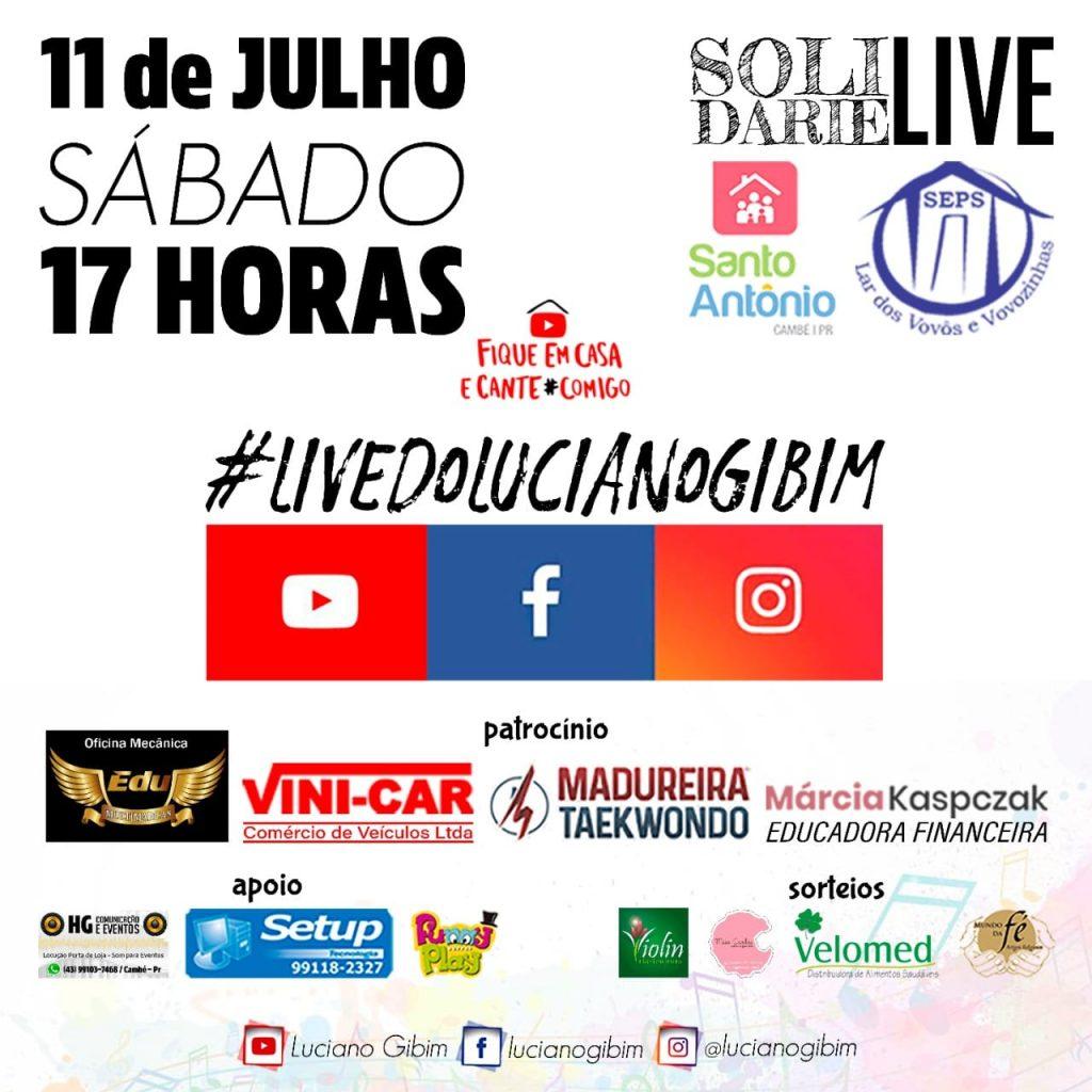 Live do Luciano Gibim
